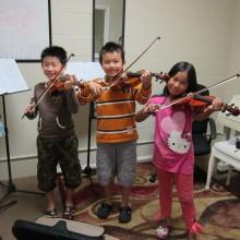 Violin Group Lessons - 88 Keys Academy Arcadia