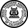 music teachers' association of California