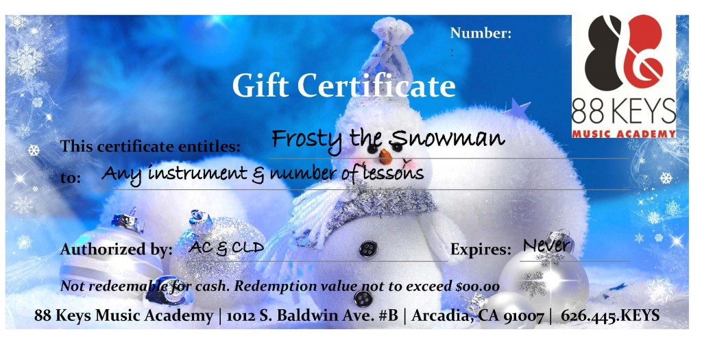 Xmas Gift Certificate (2)