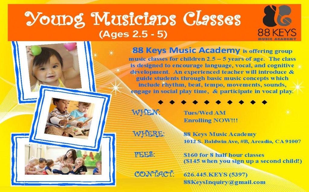 young musicians & private music lessons for children