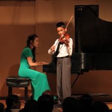 Sanjay S. - Violin Lessons - Holiday Showcase Recital 12/20/14 - 88 Keys Academy Arcadia