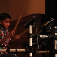 Ethan T. - Drum Lessons - Holiday Showcase Recital 12/20/14 - 88 Keys Academy Arcadia