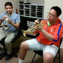 Ryan Luevano with Sean L.: trumpet lessons - 88 Keys Academy Arcadia